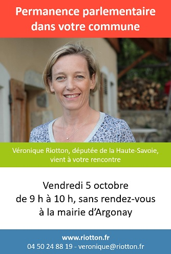 Affiche permanence parlementaire 5 oct 18