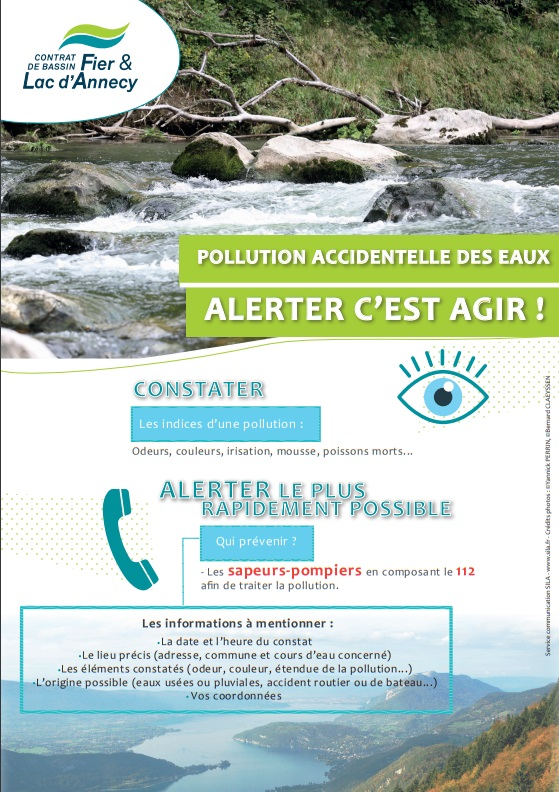 Pollution accidentelle des eaux
