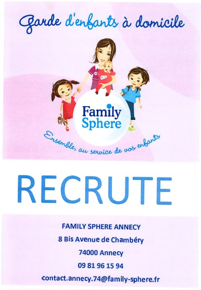 affiche family sphere